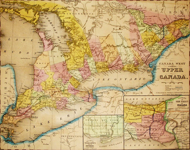 Map of Upper Canada