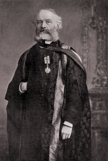 Photograph of Sandford Fleming, Chancellor of Queen�s University