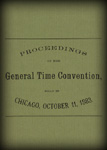Summary of the Time Convention of 1883